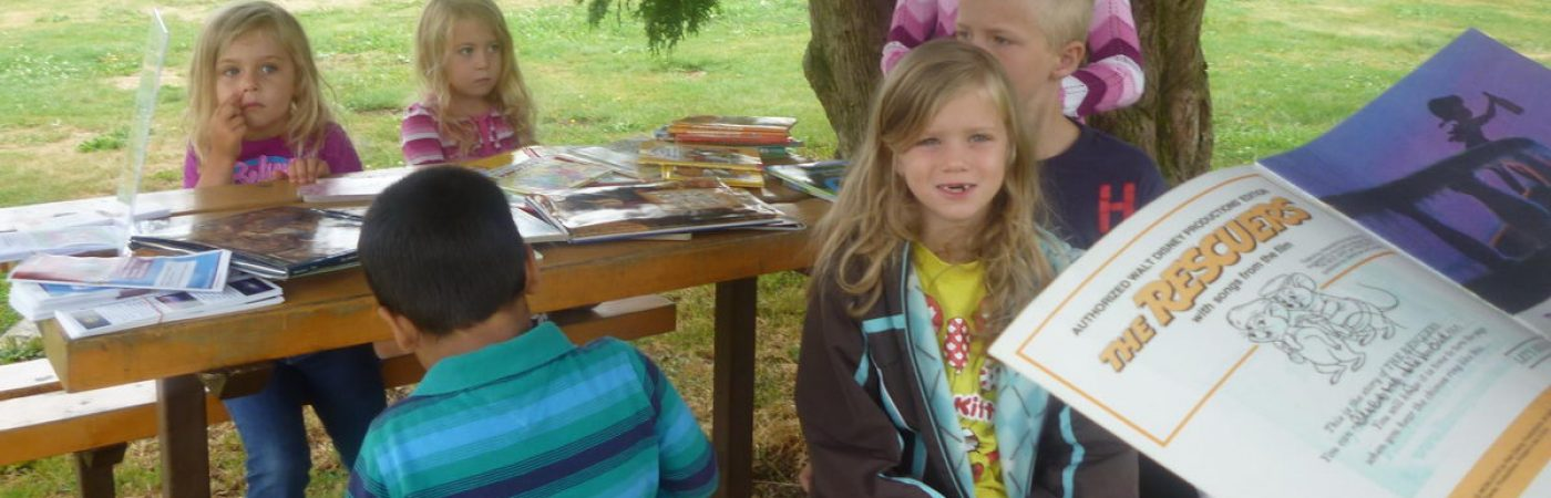 Stories in the Park at Faser Valley Heritage Park